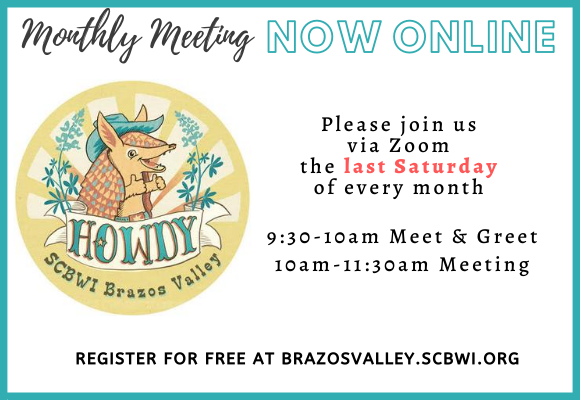 For the time being, in-person events including our Monthly Meeting and the Brazos Valley Book Report will be conducted via Zoom. Both these ongoing events continue to befree and open to the public, but require registrationin order to safeguard them from unwelcome hackers.Visit our Events page, select the event and scroll down to fill out the registration form. The silver lining:While we miss meeting in-person, the online format does provide us with several great benefits. We can now providereplays of our monthly meetingsfor members that cannot attend live and can more easily invite guests outside of the Brazos Valley.If you have an idea for a meeting topic or guest, please let us know!