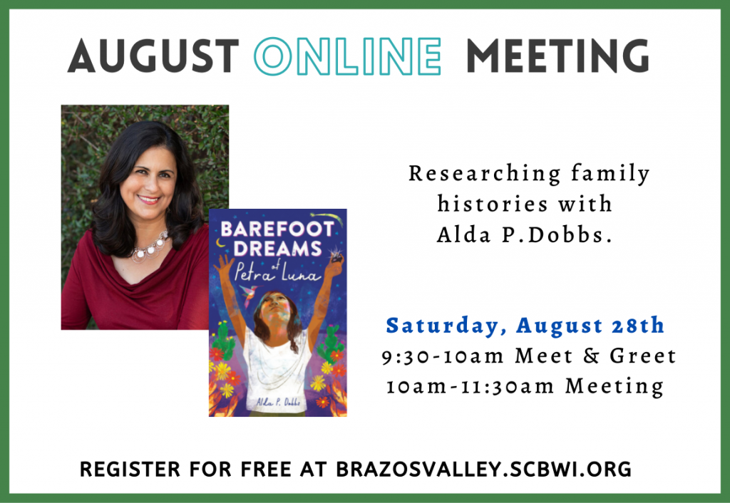 BV August Meeting - research with Alda P Dobbs